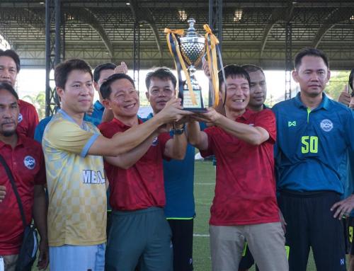 รางวัลชนะเลิศฟุตซอลCan Cluster Cup # 7